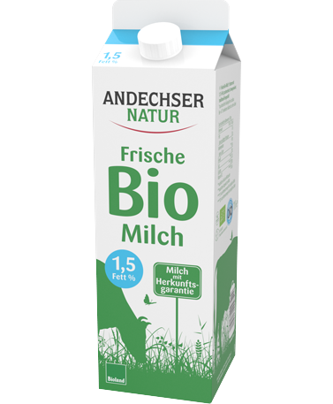 ANDECHSER NATUR Organic low-fat milk 1.5% 1l
