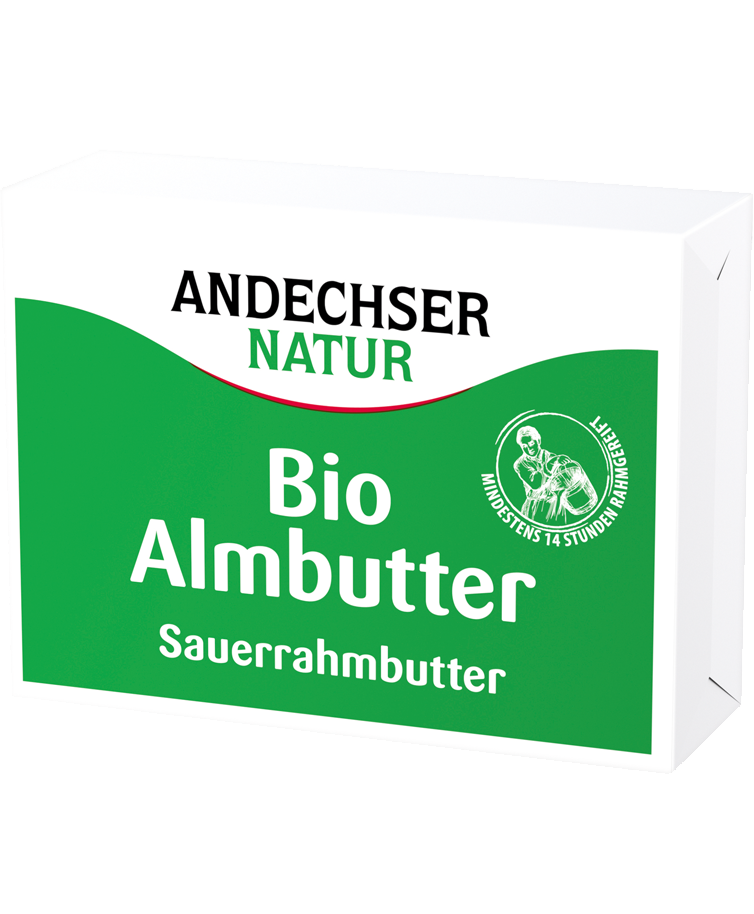 Bio Almbutter 250 g ANDECHSER NATUR