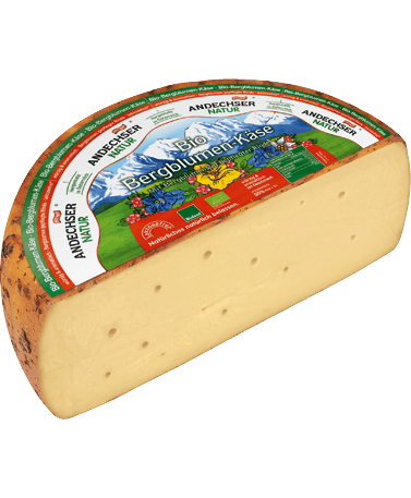 ANDECHSER NATUR Organic mountain flower cheese 50% 3kg