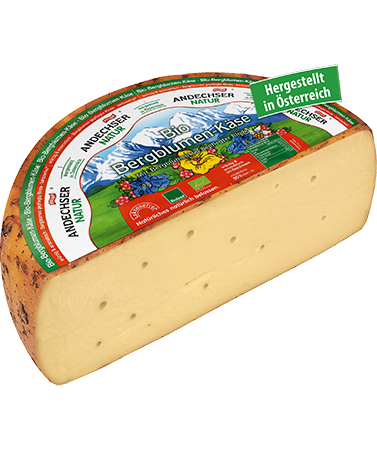 ANDECHSER NATUR Organic mountain flower cheese 50%