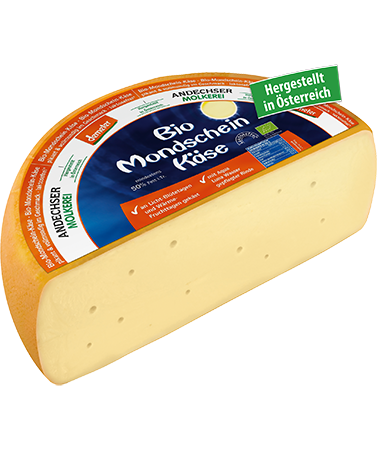 ANDECHSER NATUR demeter organic moonshine cheese 50% FDM 3kg
