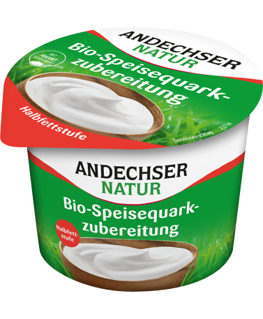 ANDECHSER NATUR Organic half-fat curd cheese refined 20% fat 250g