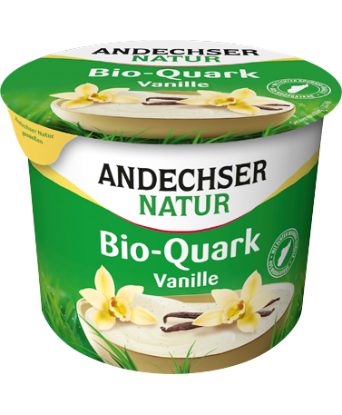 ANDECHSER NATUR Organic fruit curd cheese vanilla 20% 450g