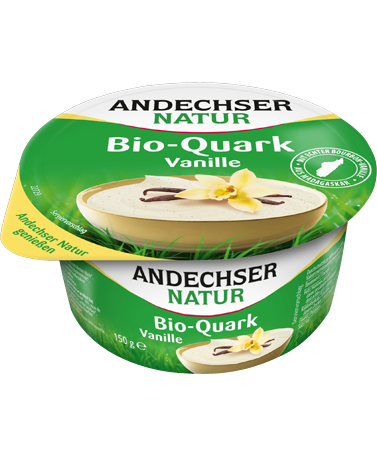 ANDECHSER NATUR Organic fruit curd cheese vanilla 20% 150g