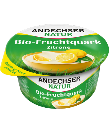 ANDECHSER NATUR Organic fruit curd cheese lemon 20% 150g