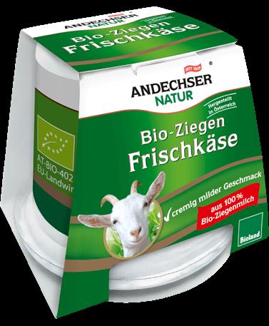 ANDECHSER NATUR Organic goat cream cheese 40% 125g