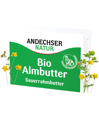 ANDECHSER NATUR Bio Almbutter 250g