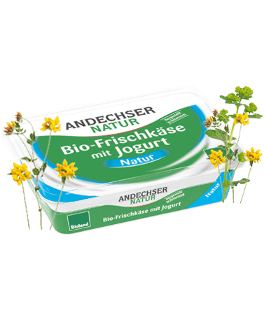 ANDECHSER NATUR Organic cream cheese 65% 175g