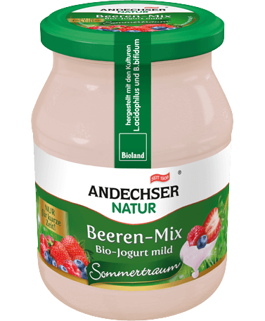 BioJogurt mild Beeren-Mix