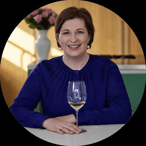 Romana Echensperger Master of Wine Online Wein und Käse Tasting ANDECHSER NATUR